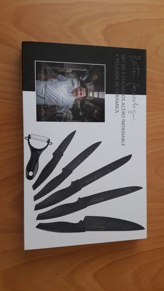 Set de Cuchillos acero inox.