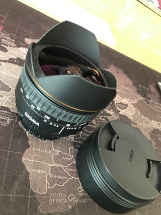 Ojo de pez SIGMA 15mm 2.8 x Nikon y Sony