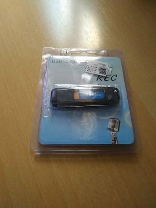 grabador de voz pen drive 8 gb