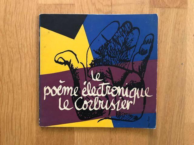 Le Poème électronique Le Corbusier De Segunda Mano Por 50