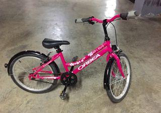 """Bicicleta ORBEA 4-8 años. Rueda de 20"""""""