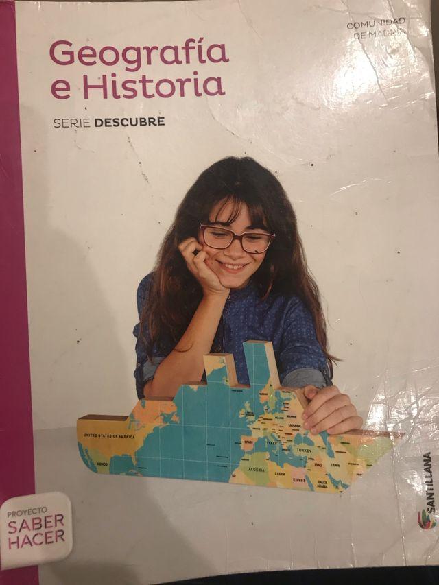 Libro de geografía e historia 3° ESO (santillana)