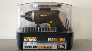 Atornillador sin cable Probuilder