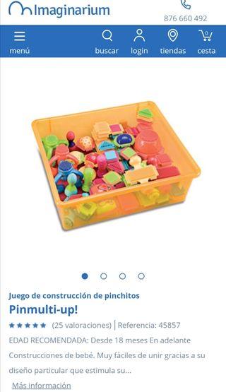 juego construcciones Imaginarium