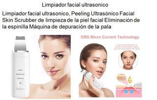 Limpiador facial ultrasónico