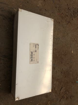 Chasis hammond 1444-28 aluminio nuevo
