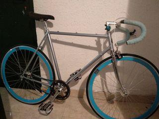 Bicicleta Fixie a capricho