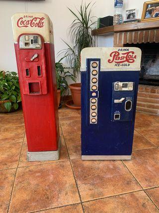 Muebles Artesanales Coca-Cola y Pepsi-Cola