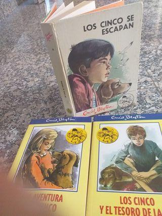 3 libros de los 5