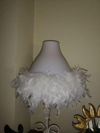 pantalla de lámpara Zara home