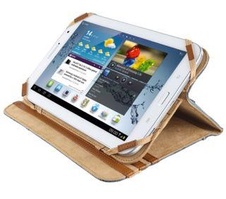 Funda piel tablet 7/8 pulgadas o mini IPad