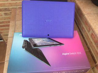 Portátil Acer Aspire Switch 10E muy nuevo SSD Y HD