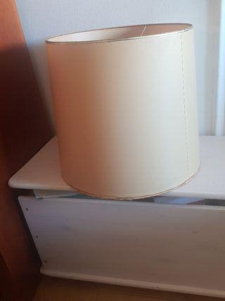 pantalla de lámpara pergamino