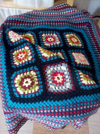 manta antigua crochet
