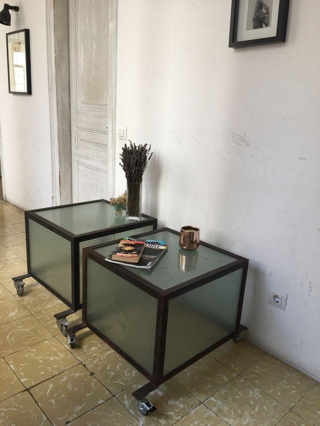 Por pieza - Mesas de centro estilo industrial