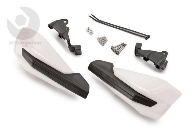 Paramanos abiertos KTM SX/EXC 14-18 blancos