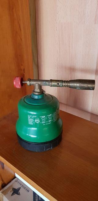 Soplete de gas para Calentar.