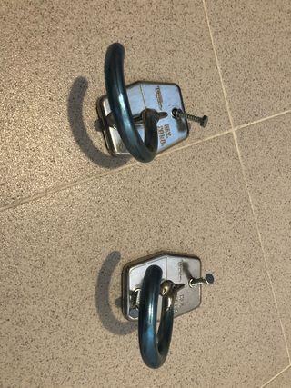 Gancho soporte colgar bicicleta