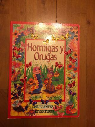 Libro infantil hormigas y orugas