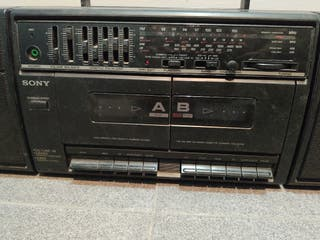radio cassette sony