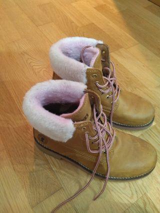 Botas de piel Coronel Tapioca