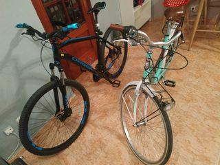 bicicleta orbea de 29'y bocleta de paseo de 26 (m)