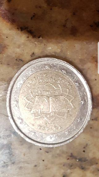 Moneda 2 euros Tratado de Europa. España