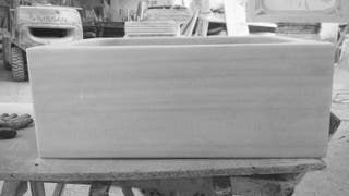 Fregadero mármol blanco macael