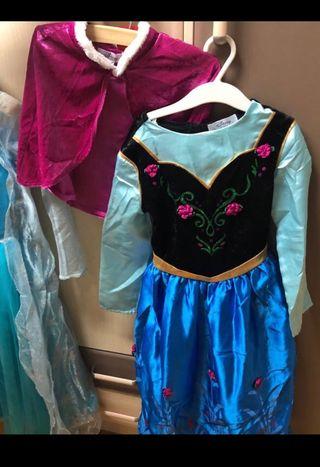 Disfraz Princesa Ana de Frozen