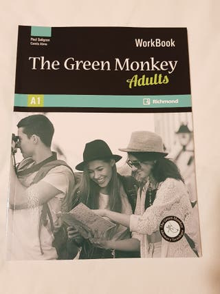 Libro de inglés A1 Green Monkey Adults