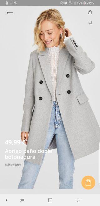 abrigo nueva stradivarius