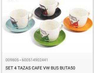 Tazas de café volkswaguen