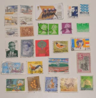 Increíble lote de sellos circulados y sin circular
