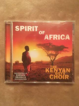 The Kenyan Boys Choir - Spirit Of Africa CD