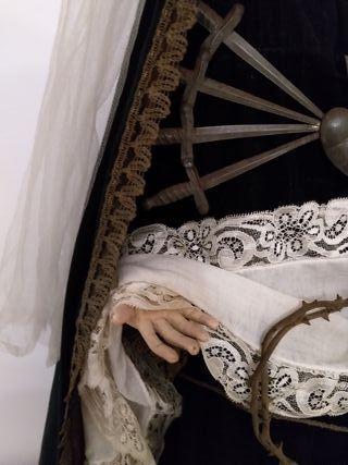virgen Dolorosa antigua