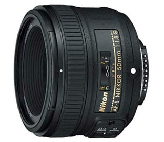 Objetivo Nikon 50mm