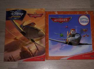 Dos libros de Aviones de Disney como Nuevos