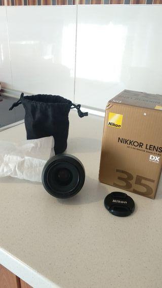 objetivo Nikon 35mm f/ 1.8G
