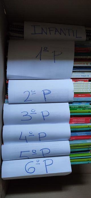 Libros de texto. Infantil