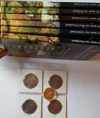 colección monedas historia de holanda.,