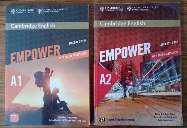 Libros de inglés Cambridge A1 y A2.