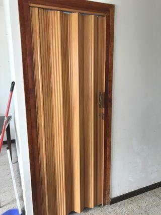 Mampara puerta