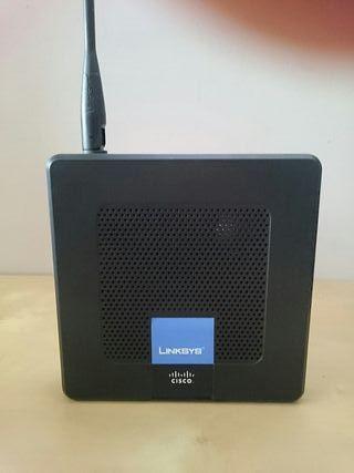 Router neutro Cisco linksys WRP400 voip wifi