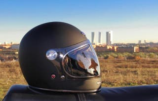 Casco moto NUEVO cafe racer