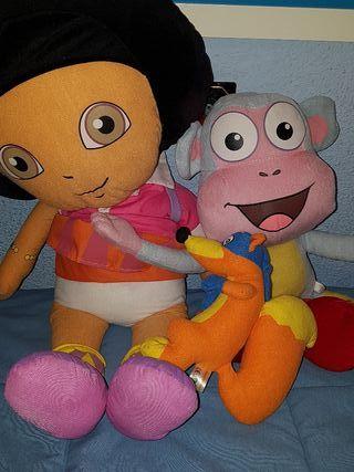 peluches Dora la exploradora