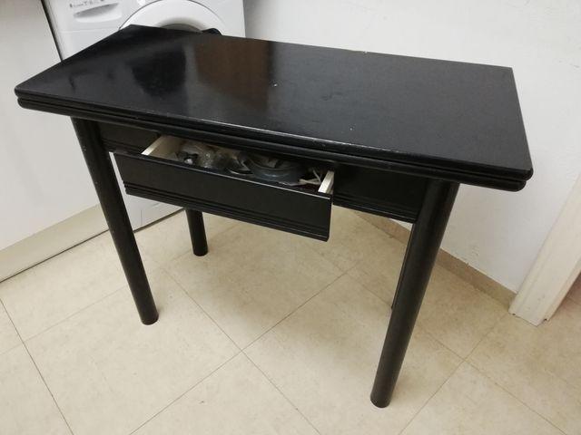 mesa de cocína plegable