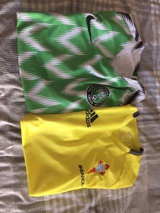 Camiseta fútbol nigeria y celta