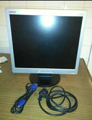 "Monitor HP Compaq 17"""