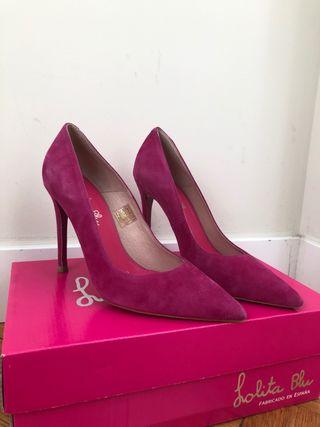 Zapato salón Lolita Blu número 37