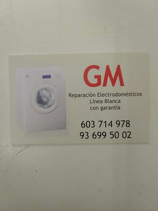 GM reparación de electrodomésticos